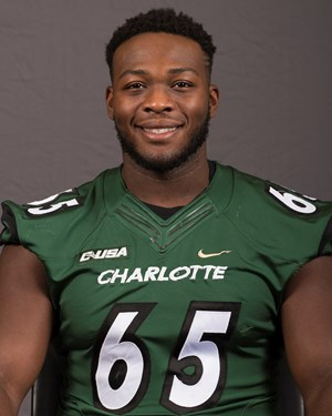 free shipping 1f5fd 50623 Larry Ogunjobi - Football - Charlotte Athletics